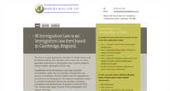 Preview of irimmigrationlaw.co.uk