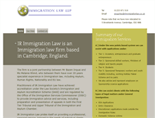 Tablet Preview of irimmigrationlaw.co.uk